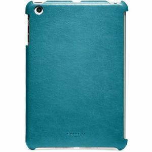 Coach Blue Bleecker Leather Molded IPAD Mini Case
